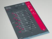 Behance :: Bureau Oberhaeuser Calendrier 2014 par Martin Oberhäuser
