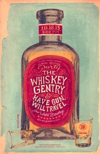 The Whiskey Gentry - Concert Poster 1 on