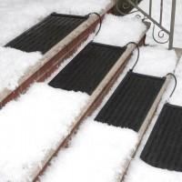 HeatTrak Residential Snow-Melting Stair Mat | The Gadget Flow
