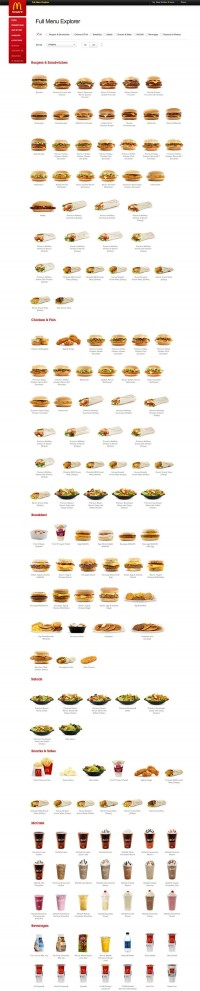 You've Never Seen A McDonald's Menu Look This Good | Co.Design | business + design