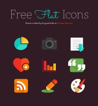 Freebie Flat Icons on