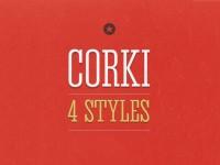 Corki V.02 - Free Font - FreebiesXpress