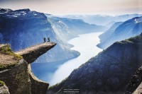 500px / Fly over Trolltunga by Zhuokang Jia