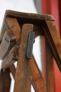 Vintage Wood Ladder at 1stdibs