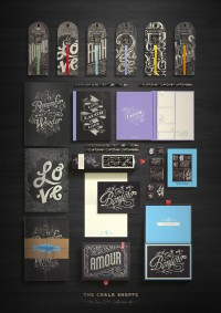 beautifultype: Bookjigs New Product Line - Chalk..., via SerialThriller™