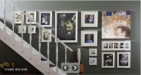 Sunday Showcase - Staircase Gallery Wall