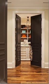 Painting Interior Doors Black! - Southern Hospitality