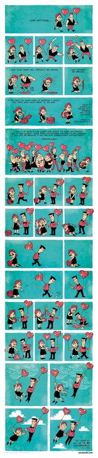 Here is a beautiful short comic portraying the meaning of love. This will make you smile! | Interesting Facts & Information