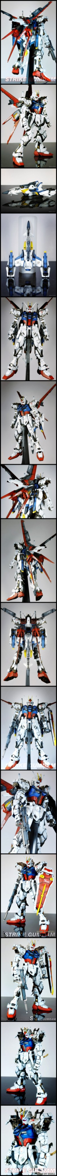 STRIKE GUNDAM | The Plastic Figure World