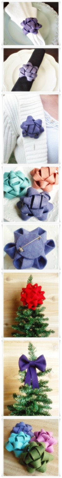 Hand Made_felt ribbon