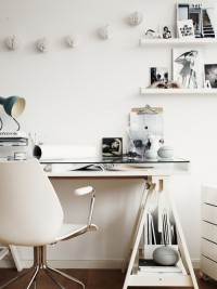 Workplace in white - Inspiration DE