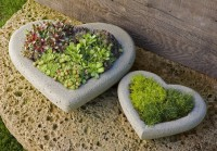 Campania International - Heart Small Planter