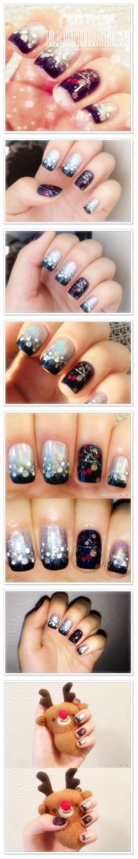 Nail Art_christmas illumination