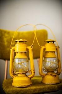 Yellow lanterns light up the night! | *T*R*E*E*S* in *S*U*M*M*E*R*
