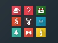 Christmas Icons by Veronika Pavlikova