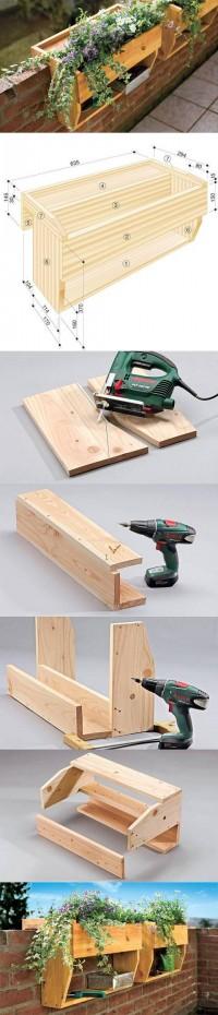 DIY Railings Shelves Pots DIY Projects | UsefulDIY.com