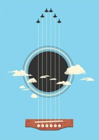 music sounds better with you(r planes) - Inspiration DE
