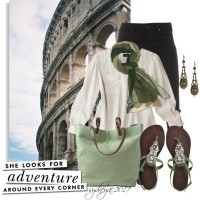 Touring Rome - Polyvore