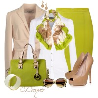 More Lime - Polyvore
