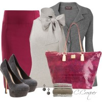Cranberry&Grey - Polyvore