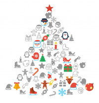 Flat Christmas: Free Icon Packs for all Platforms | Icons8