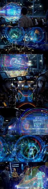 Pacific Rim.2013 | UX | Fantasy User Interfaces