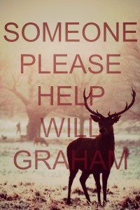 Someone please help Will Graham! | We Heart It