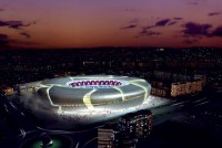 Nou Mestalla in Valencia, Spain - Top stadiums with the most beautiful architecture