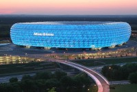 Allianz Arena in Germany - Top stadiums with the most beautiful architecture