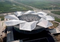 Qi Zhong stadium in Shanghai - Top stadiums with the most beautiful architecture