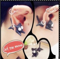 shego shopping mall — [grlhx130023]Cute Fashion Cat Earring For One