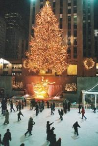Rockefeller Center at Christmas | Romantic winter