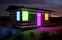Lucid Stead house installation in Cali High Desert @ ShockBlast