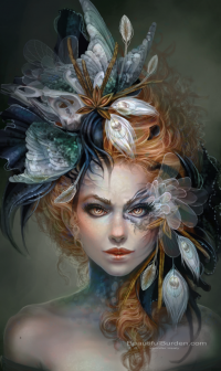 Incredible Digital Female Fantasy Portraits by Jennifer Healy