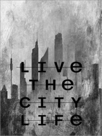 City Life Pictures: Posters by Ally Coxon at Posterlounge.co.uk
