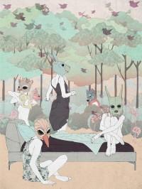 Inspiration Hut - Surreal Art by Ramona Ring
