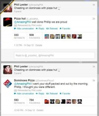 Cheating On Dominoes With Pizza Hut - GiantGag