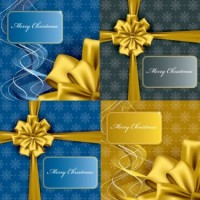 CHRISTMAS / Free vector Vector Christmas christmas gift box packaging vector