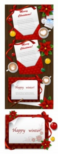 CHRISTMAS / Free vector Vector Christmas christmas wish letters vector