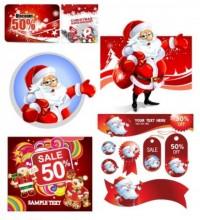 CHRISTMAS / Free vector Vector Christmas vector christmas discount sales calendar