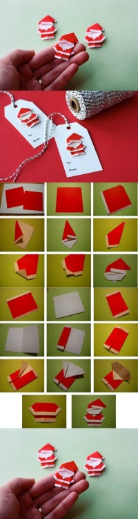 DIY Cute Paper Santa Claus DIY Projects | UsefulDIY.com
