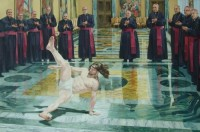"""I Heart Chaos — Awesome art of the day: """"Breakdancing Jesus"""" by..."""