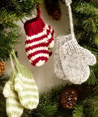 Christmas Decor – Knit Christmas Tree Ornament craft ideas. | Family Holiday