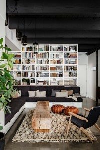 NW 13th Avenue Loft - industrial - living room - portland - by Jessica Helgerson Interior Design