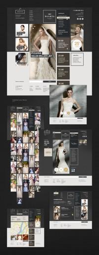 Russian Bridal salon Website | Inspiration DE