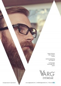 Varg Eyewear Advertisements by Ross Sweetmore | Inspiration DE
