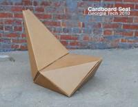 AIA Cardboard Seat Design by Gourab Kar