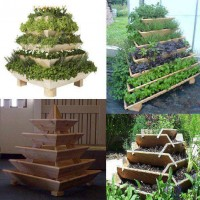 Space Saving Garden Idea DIY Projects | UsefulDIY.com