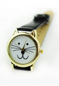 shego shopping mall — [grzxy61500023]Cute Adorable Cartoon Cat Face Wristwatch Watch