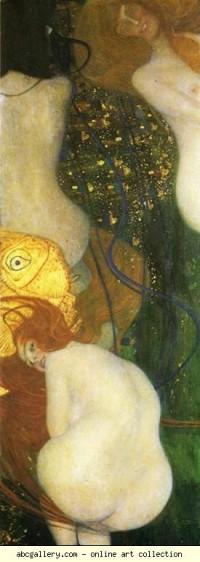 Gustav Klimt. Goldfish - Olga's Gallery